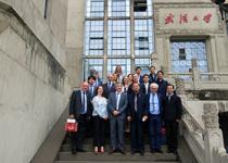 爱尔兰教育与技能部副部长约翰·郝利根先生到访武汉