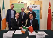 爱尔兰教育与技能部副部长见证合作项目签约