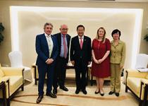 爱尔兰教育与技能部副部长约翰·郝利根到访北京,参与众多教育界活动