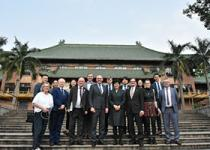 爱尔兰教育与技能部部长乔•麦克休率团访问华南农业大学