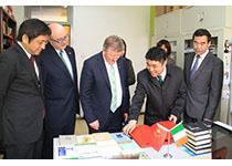 北京外国语大学举办爱尔兰日活动