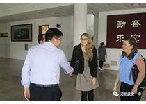 武安一中迎来爱尔兰、韩国教育考察团